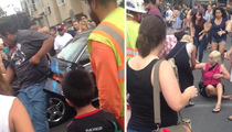 Comic Con -- Zombie Walk Turns Violent ... Woman Hit By Car When Crowd Goes Berserk