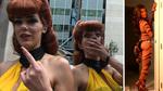 Hot Model BLASTS Pervs at Comic-Con!