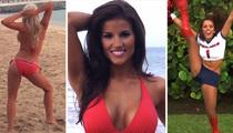Houston Texans Cheerleaders -- SEXY BIKINI DANCE VIDEO... It's A Puerto Rican Shakedown!!
