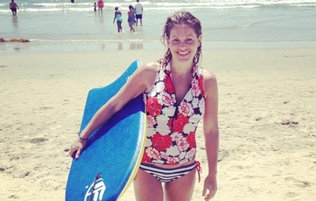 Candace Cameron, 38, Flaunts HOT Beach Bod