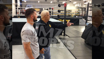 Hall of Famer Dusty Rhodes -- Showing the Ropes to New WWE Superstar