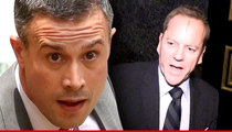 Freddie Prinze, Jr. -- Kiefer Sutherland Beef is Alcohol-Related ... Fox Says Hogwash
