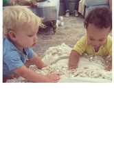 Jessica Simpson's Son Ace Plays With CaCee Cobb's Son Rocco -- See th