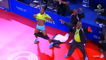 Nigerian Ping Pong Team -- African No Pants Party ... For Bronze Medal Win