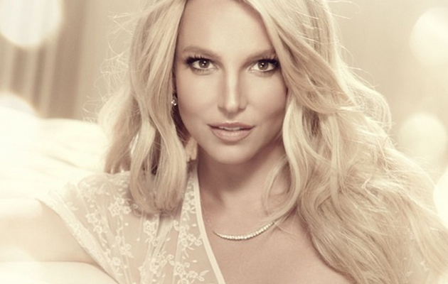 Britney Spears Flaunts Major Cleavage in New Lingerie Promo