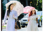 JWoww and Snooki Dress Up As Victorian Ladies -