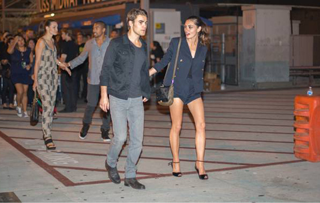 Paul Wesley & Phoebe Tonkin Spotted on Double Date at Comic-Con