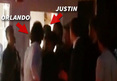 Orlando Bloom Throws Punch at Justi