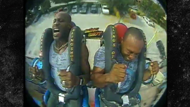 DMX Screams His Face Off On Amusement Park Ride [VIDEO]