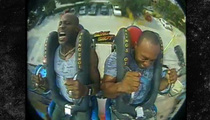 DMX -- Screams His Face Off on Amusement Park Ride