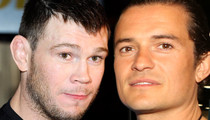 Orlando Bloom -- UFC Legend Offers to Train Actor ... We Can Take Bieber!!