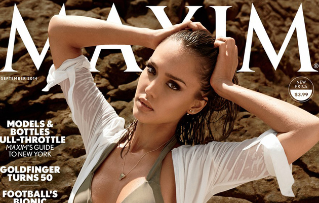 Jessica Alba Shows Off Amazing Bikini Bod For Maxim