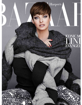 "Linda Evangelista, 49, Stuns in Harper's Bazaar's ""Icon"" Issue"