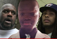 Shaquille O'Neal & Waka Flocka Flame -- Sued For Mocking Fan on Soc