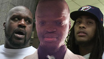 Shaquille O'Neal & Waka Flocka Flame -- Sued For Mocking Fan on Social Media