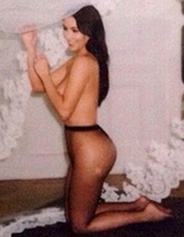 "Kim Kardashian Wishes Givenchy's Riccardo Tisci ""Happy Birthday"" With Naked Pic!"
