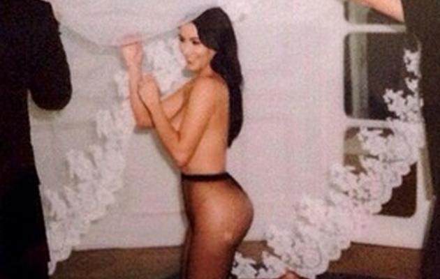 "Kim Kardashian Wishes Givenchy's Riccardo Tisci ""Happy Birthday"" With Naked Pic!"