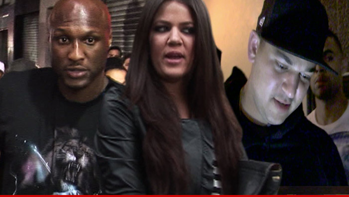 Rob Kardashian Lamar Odom Problems