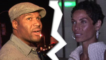 Michael Strahan, Nicole Murphy -- Engagement OFF