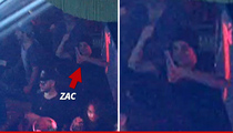 Zac Efron -- He Never Stopped Drinking