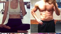 Post Workout #Selfies -- Guess The Sweaty Stars!