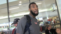 Team USA's Andre Drummond -- Paul George Was in High Spirits
