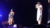 Eminem -- Performs 'Stan' With Rihanna at Lollapalooza