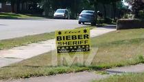 Bieber Running For Sheriff in Wisconsin