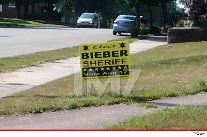 Justin Bieber Sheriff