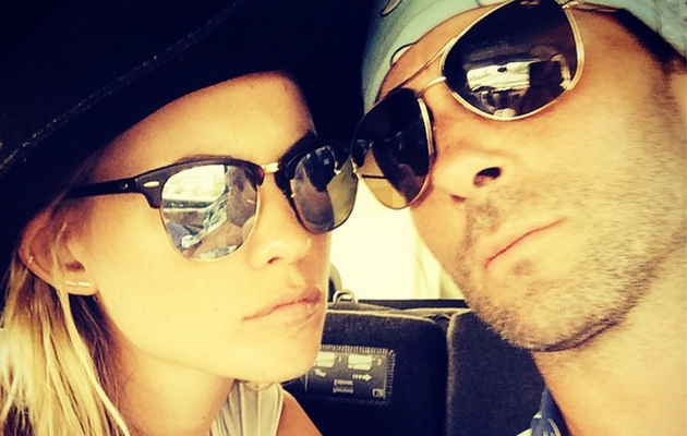 See Adam Levine & Behati Prinsloo's First Photo as Newlyweds