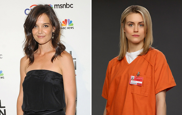 """What? Katie Holmes Was Almost Cast As Piper in """"OITNB"""""""