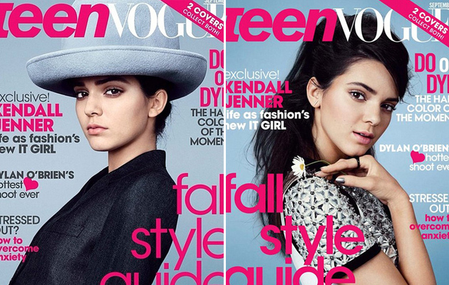 Kendall Jenner Nabs Two Teen Vogue Covers -- See the Pretty Pics!