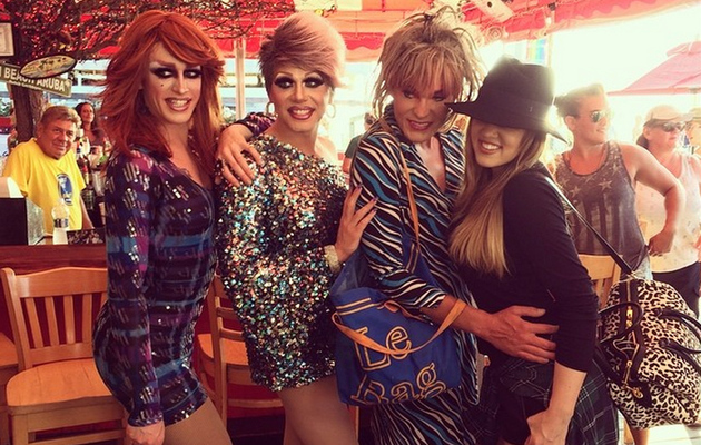 Khloe Kardashian Judges Drag Queen Contest -- See the Hilarious Video!