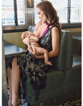 Olivia Wilde Breastfeeds Baby Otis in Glamour!