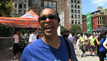 WNBA Legend Teresa Weatherspoon -- Male Cheerleaders Could Save The League!!
