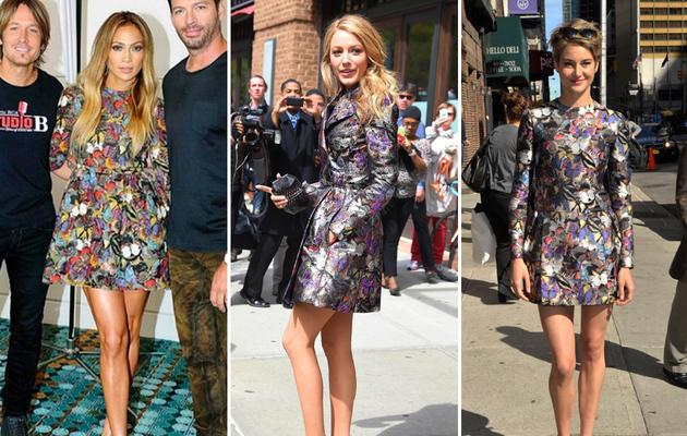 Dueling Dresses: Jennifer Lopez vs. Blake Lively vs. Shailene Woodley