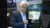 Jay Leno Meats the Fatburger Challenge -- 24 Ounces, 5 Minutes!