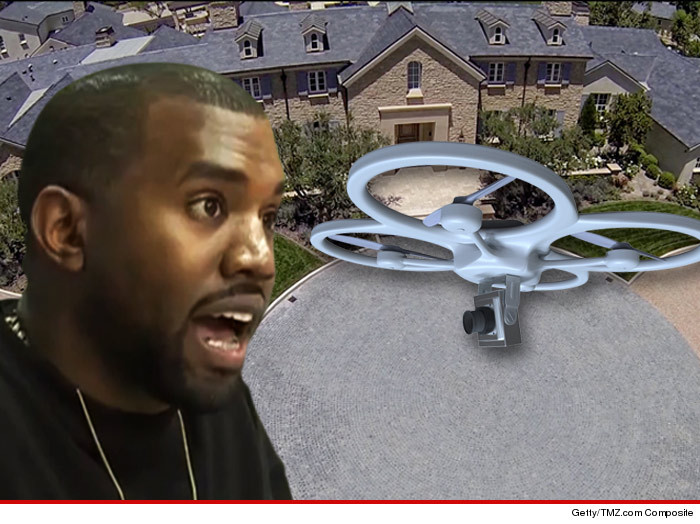 Kanye West Drones