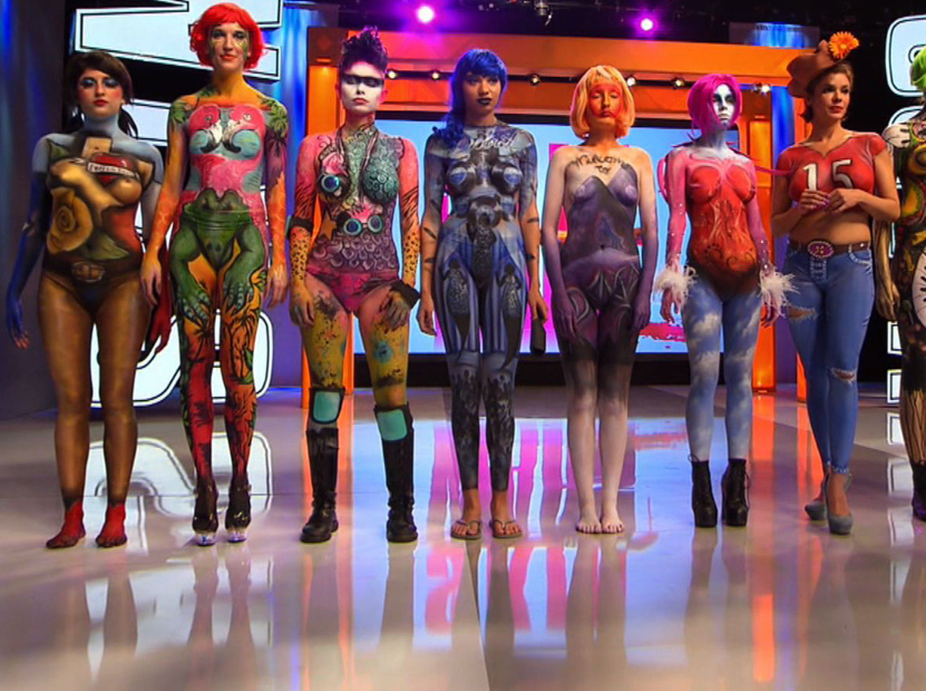 Skin Wars Body Painting Rupaul