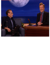 "Conan O'Brien, Larry King & Andy Richter Eat Pot Brownies on ""Conan"""