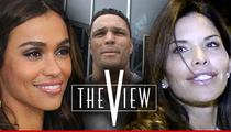 Tony Gonzalez -- Man in the Middle of 'View' Auditions