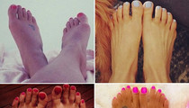 Hollywood Hoofs -- Guess Whose Pedicured Pics!