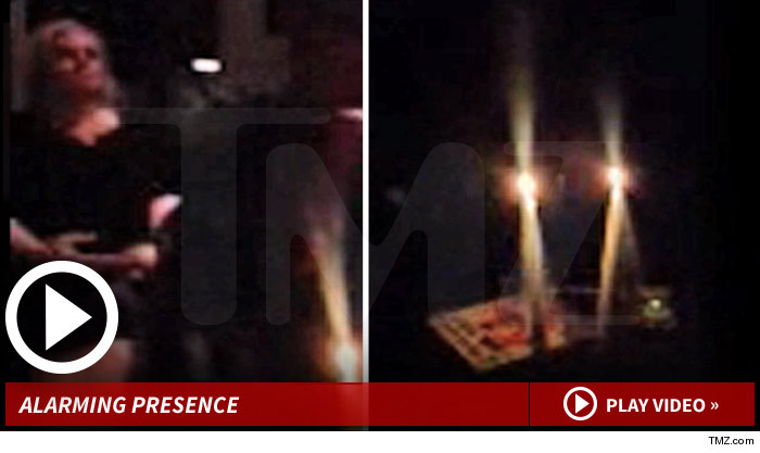Tate Murder Anniversary Fire Alarm Goes Off During Midnight Seance
