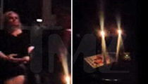 Tate Murder Anniversary -- Fire Alarm Goes Off During Midnight Seance