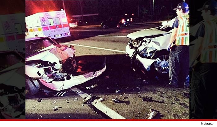 The Rock's Mom Car Smashed by Drunk Driver in Head on Collision