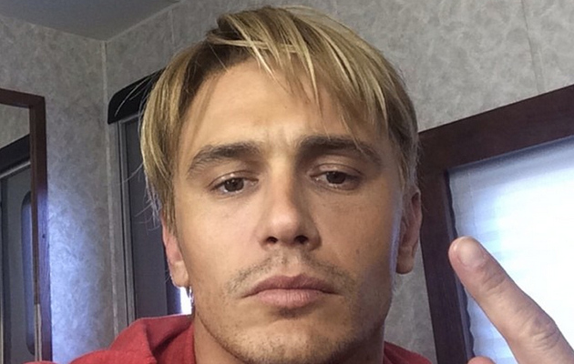 James Franco Has A New Blonde 'Do -- See His Bleached Look!