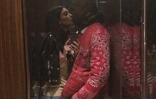 Kim Kardashian Posts Intimate Selfie with Kanye West