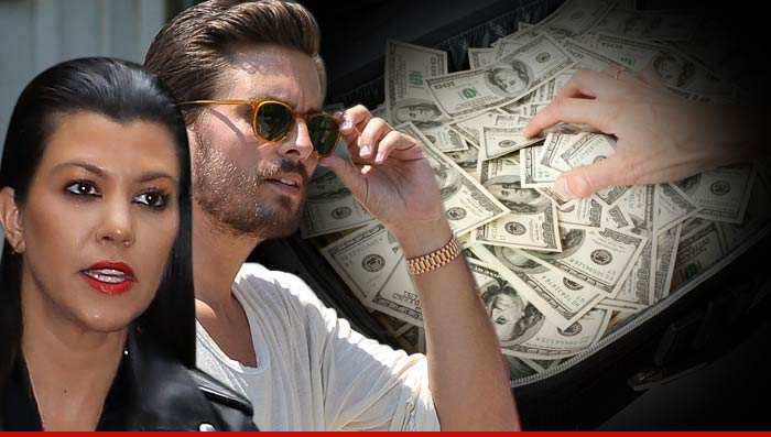 Scott Disick and Kourtney Kardashian Robbed
