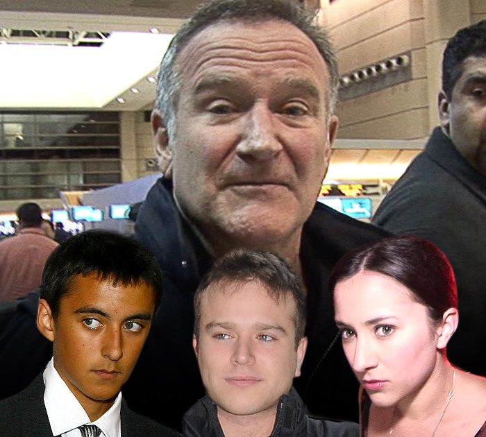 robin williams financially protected his kids with