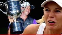 Rory McIlRoy -- Ditching Caroline Wozniacki Made Me Number One